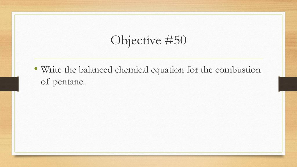 Organic Chemistry Review Ppt Download