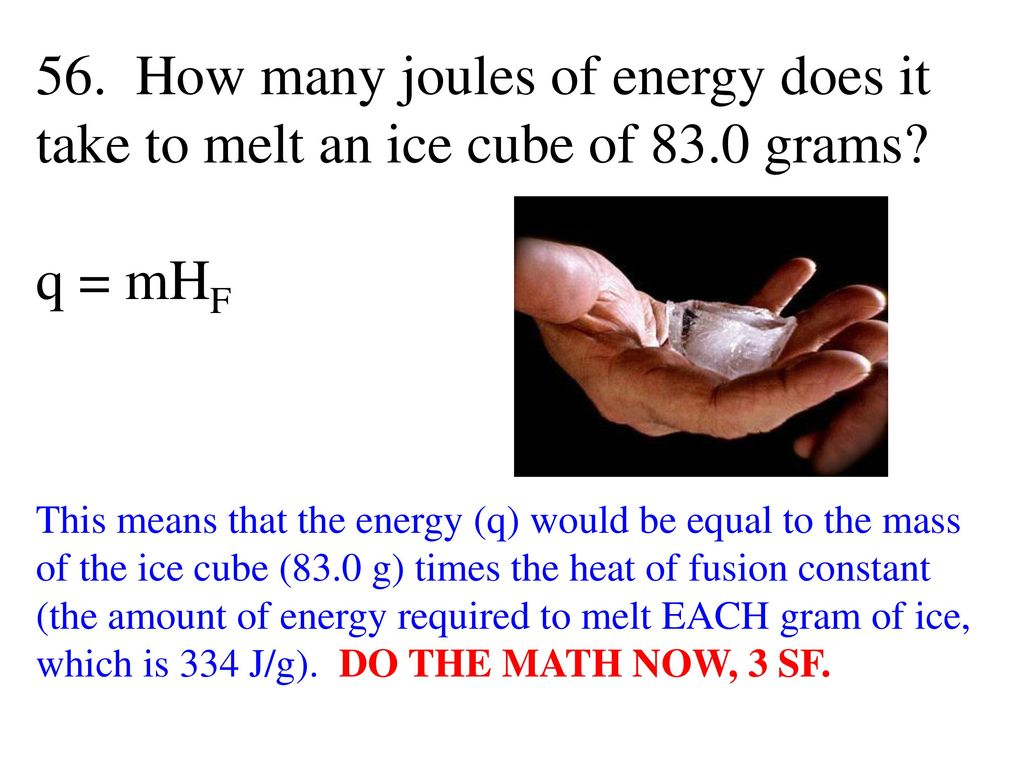 Thermochemistry 1  The chemistry that measures the energy (HEAT