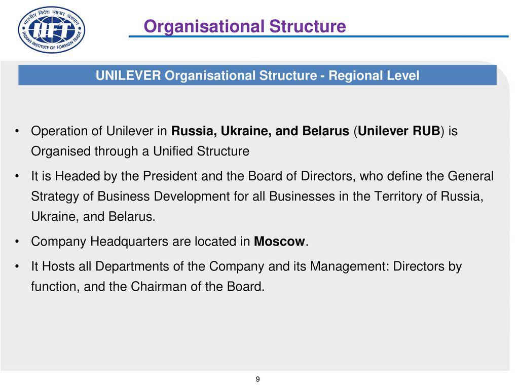 Case study unilever inmarko merger ppt video online download unilever organisational structure regional level altavistaventures Choice Image