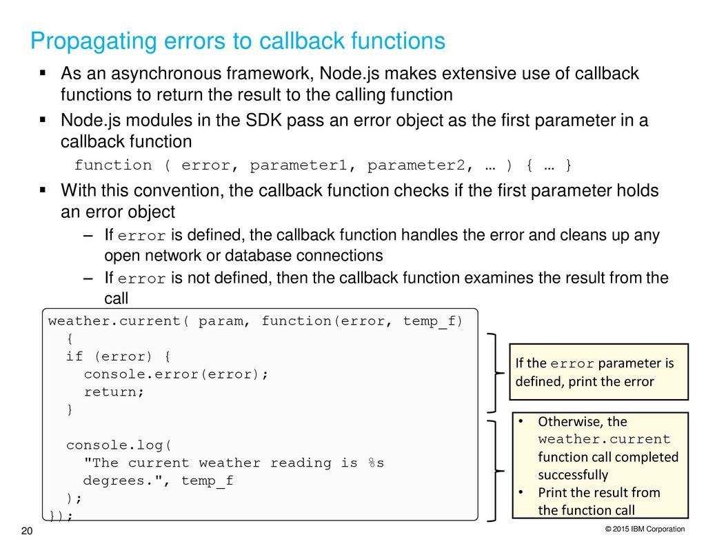 Configuring Nodes Application on BlueMix - ppt download