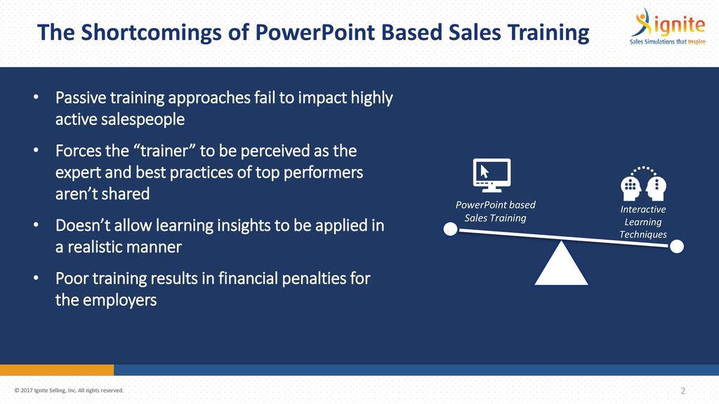 transform your sales training ppt download