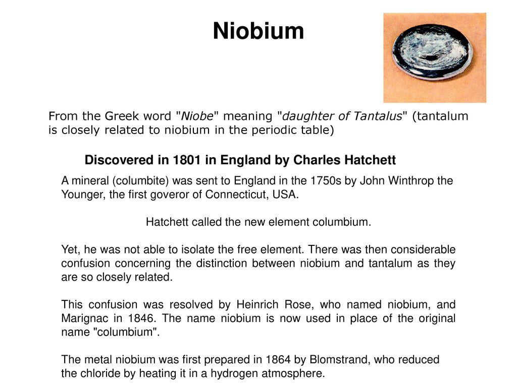 Hafnium Hafnium Is Used In Ppt Download
