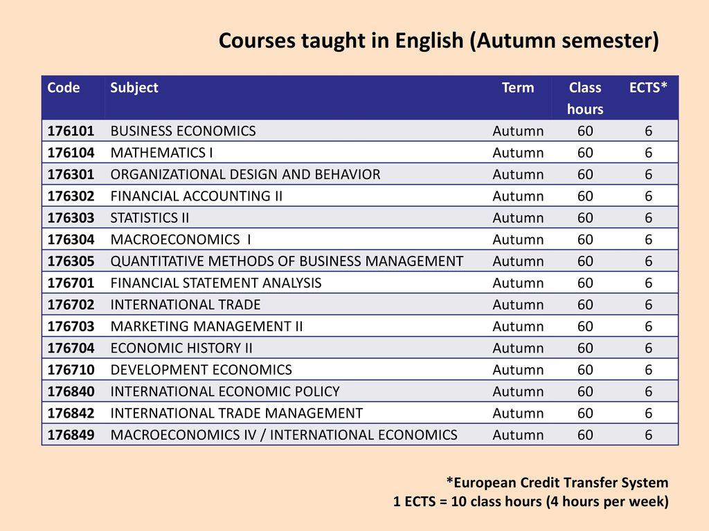 5 Courses ...