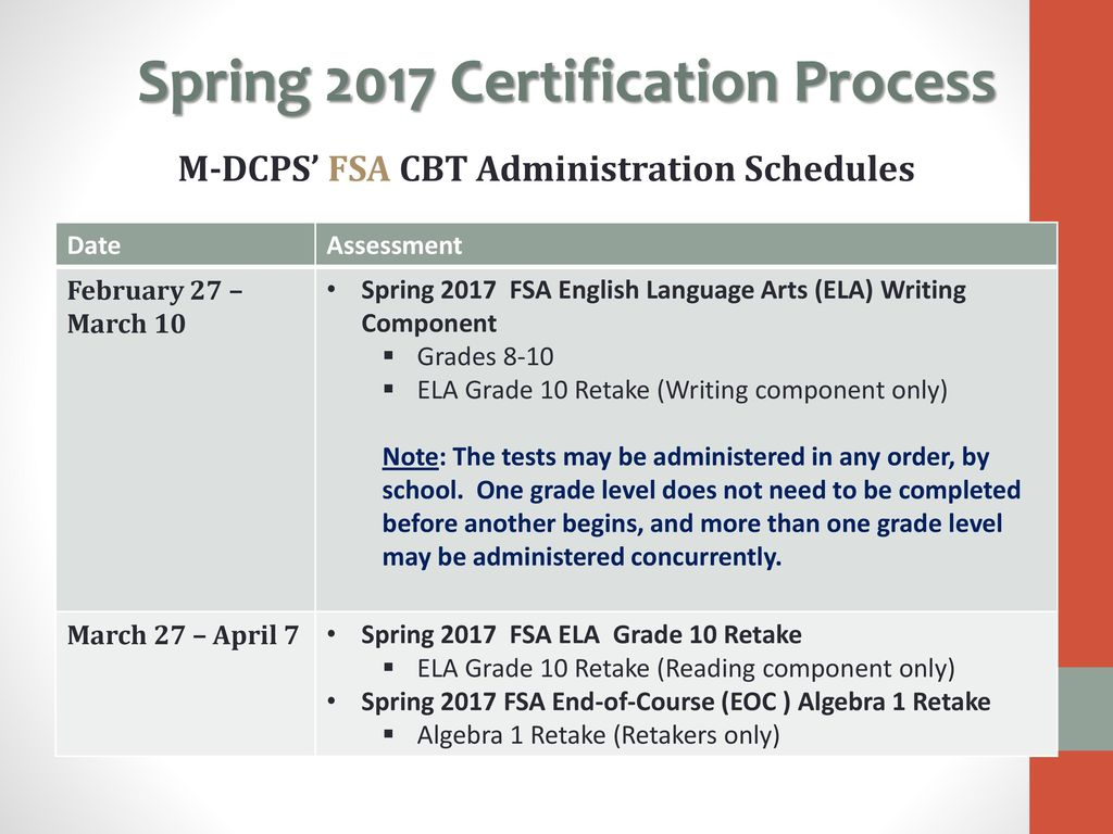 Computer Based Testing Cbt Certification Tool Fsa Fcat 2 Ppt