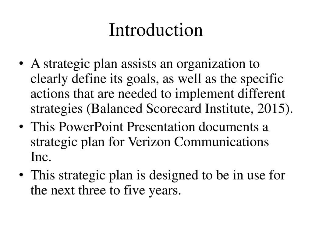 Unit 10 Final Assignment: Strategic Plan Presentation - ppt