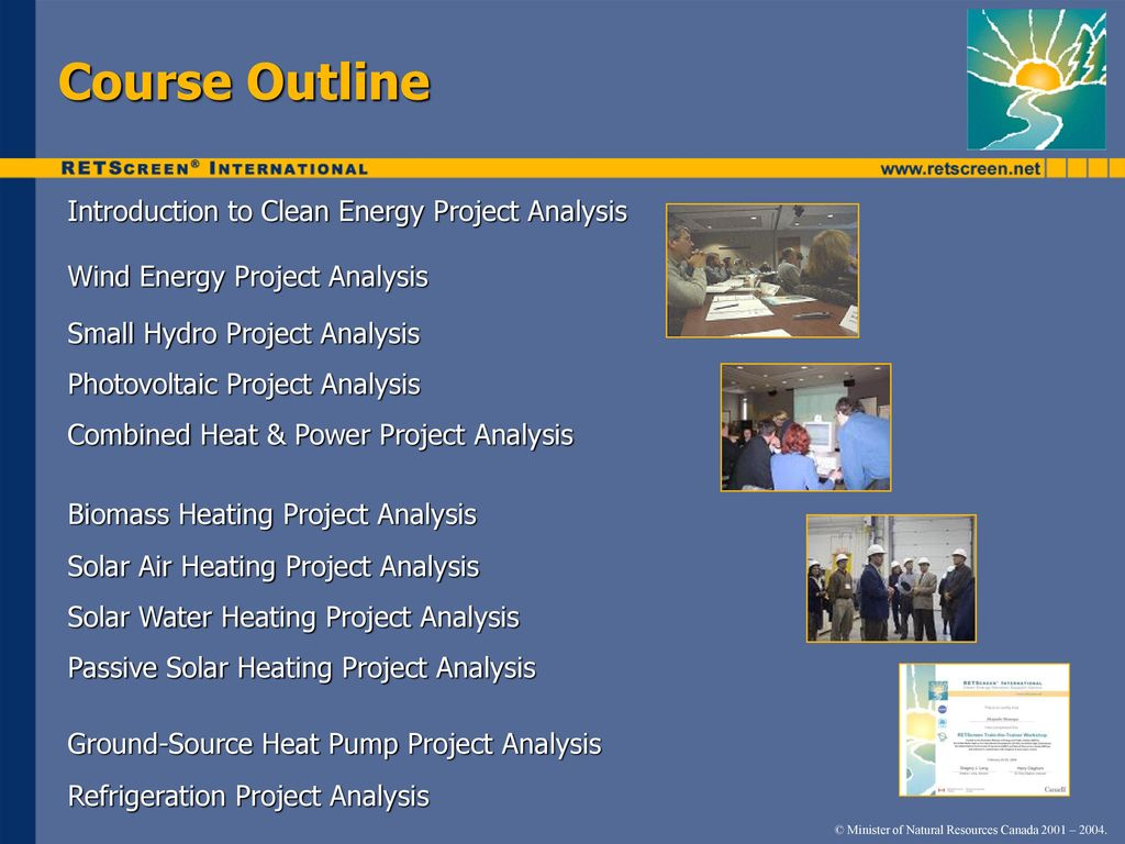 Clean Energy Project Analysis Course - ppt download