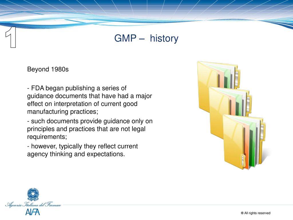 REVISION OF EUDRALEX VOL  4 - GMP - ppt download