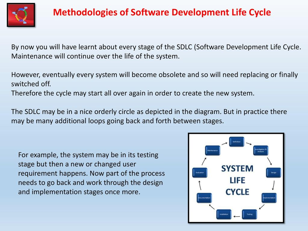 sdlc fofr enrollment system Software development life cycle (sdlc) is a process used by the software industry to design, develop and test high quality softwares the sdlc aims to produce a high-quality software that meets or exceeds customer expectations, reaches completion within times and cost estimates.