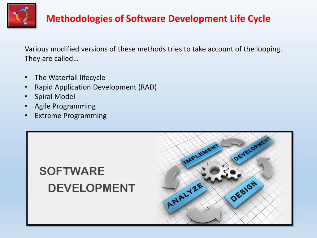 software methodologies The sandler sales methodology treats the salesperson and prospect as equally committed to the sales process -- it prioritizes building a mutual trust between the two rather than acting as a typical salesperson, the rep acts as an advisor and asks questions to identify challenges in the qualification process.
