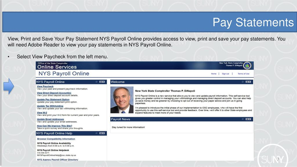 nys payroll online