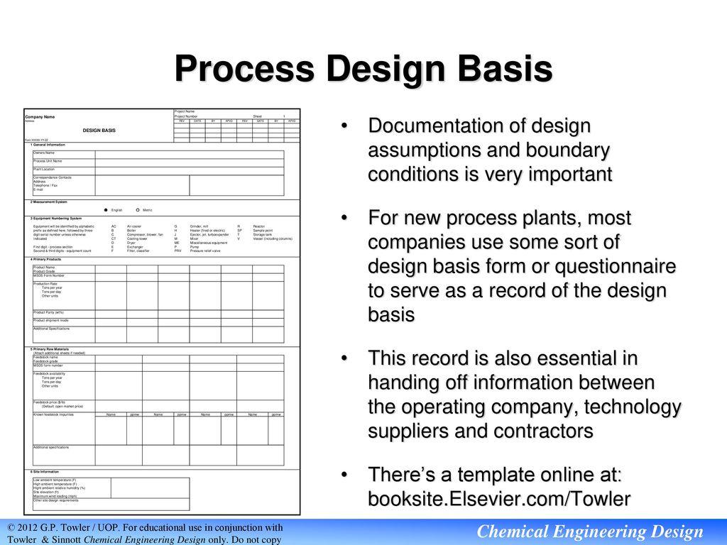 Industrial Process Design Ppt Download