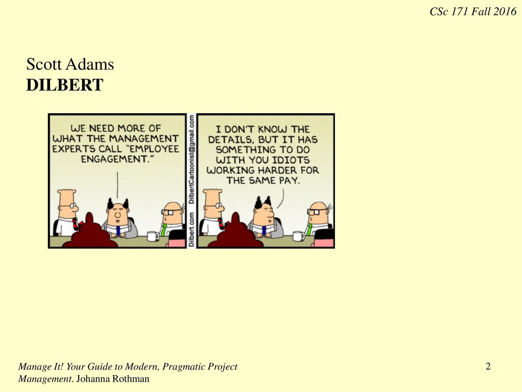 Scott Adams DILBERT Manage It! Your Guide to Modern