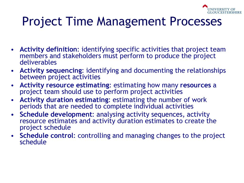 week 6 – project time management - ppt download
