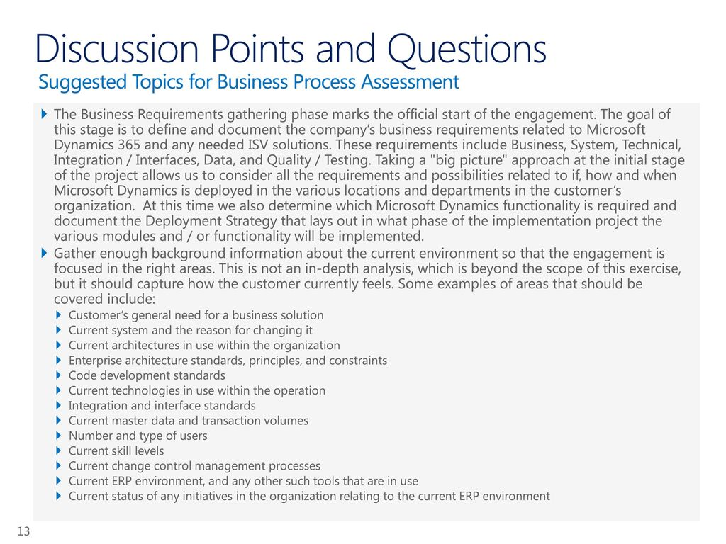 Microsoft Dynamics Planning Services - ppt download
