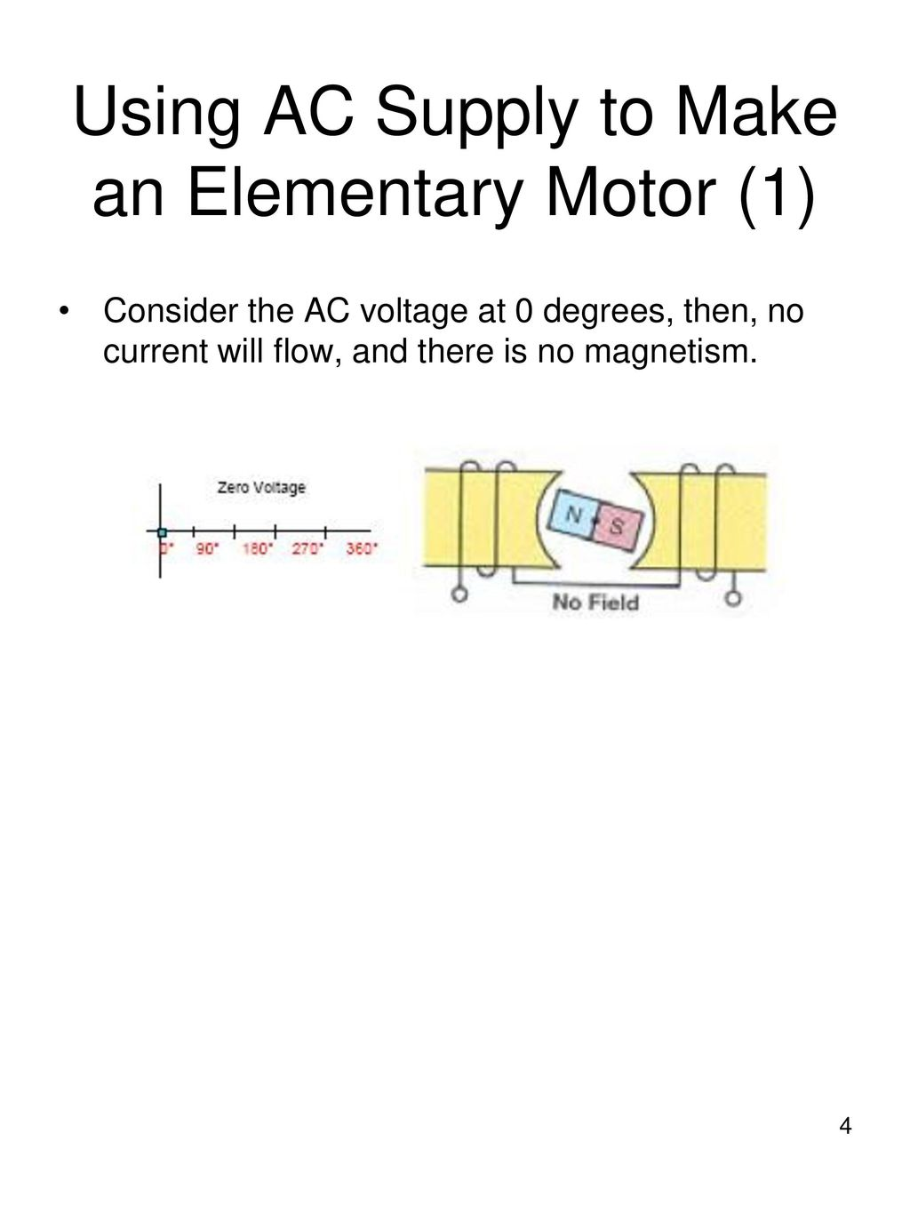 Chapter 13 – AC Motors AC motors convert AC electrical energy to