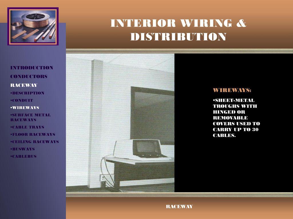 Surprising Interior Wiring Distribution Ppt Video Online Download Wiring Digital Resources Instshebarightsorg