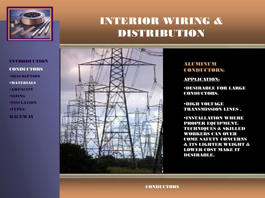 Interior Wiring Distribution Ppt Video Online Download Residential Techniques