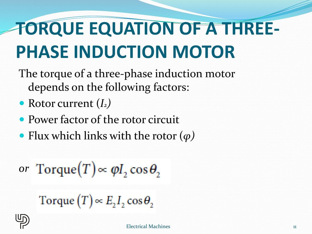 Three Phase Induction Motor Ppt Download Circuit Diagram Ac Motors Torque Equation Of A