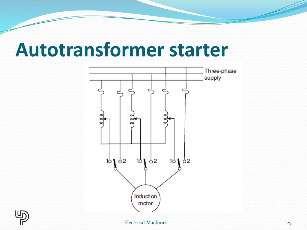 Three Phase Induction Motor Ppt Download Autotransformer Starter Wiring Diagram
