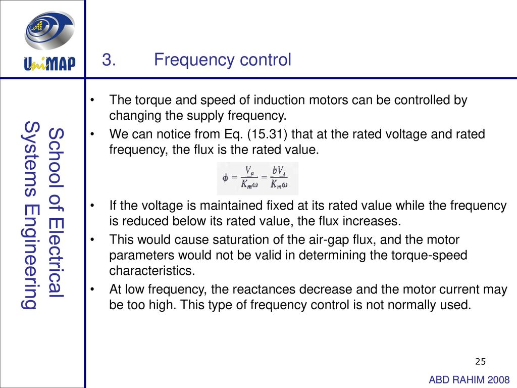 Power Electronic Drives Induction Motor Ppt Download Constant Airgap Equivalent Circuit 25 Systems Engineering