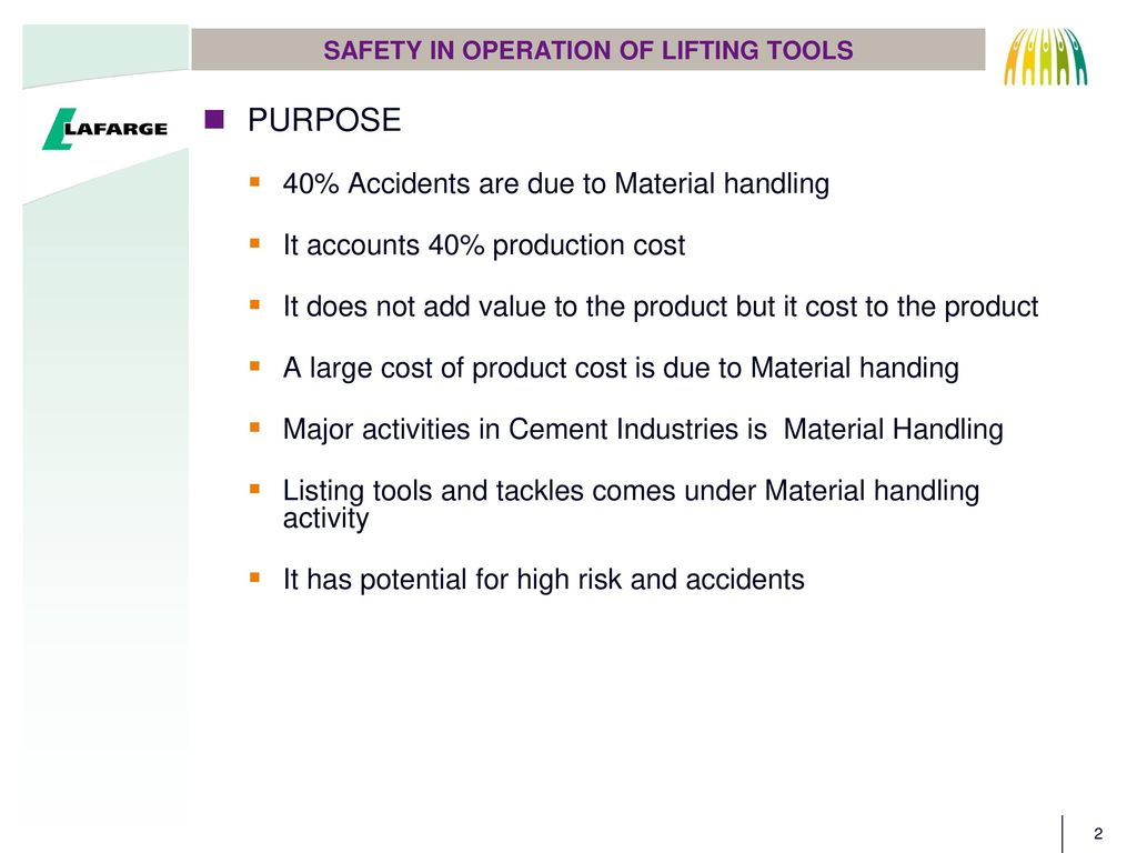 Safe materials handling and machine safety training powerpoint by ectc.