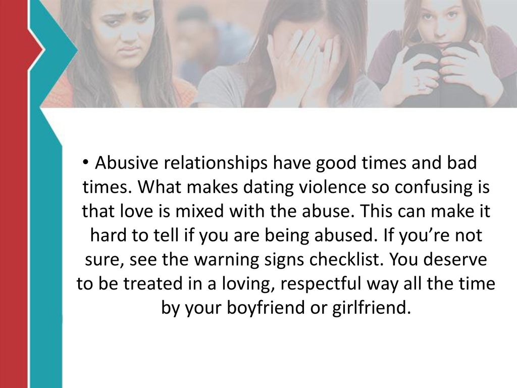 How to tell if youre dating an abuser