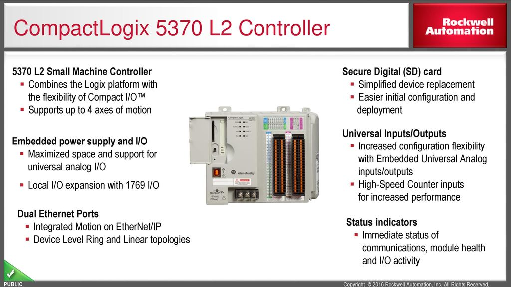 CompactLogix Controllers Portfolio - ppt download on