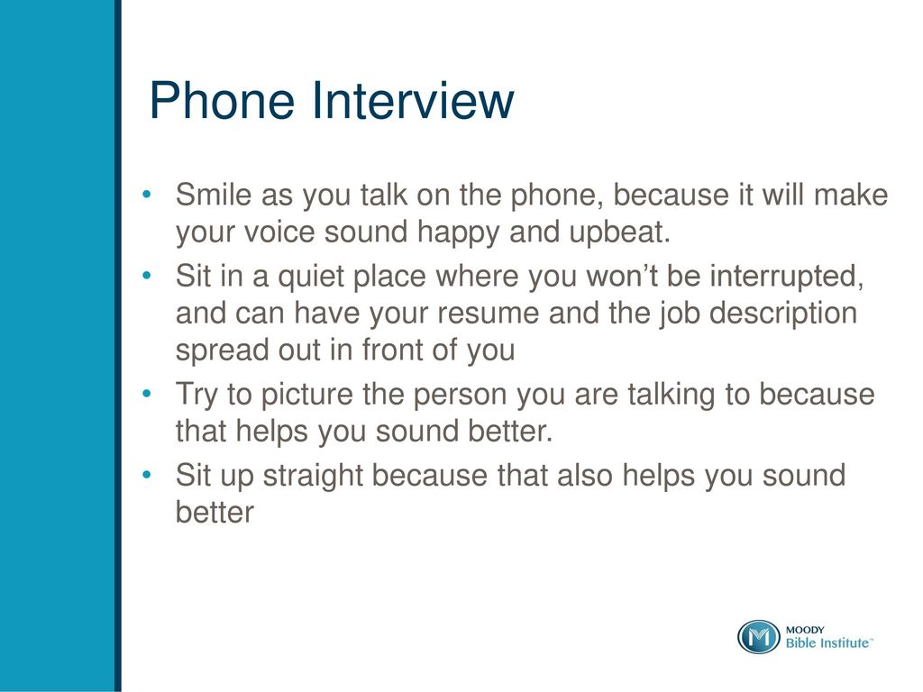 how to interview well ppt download