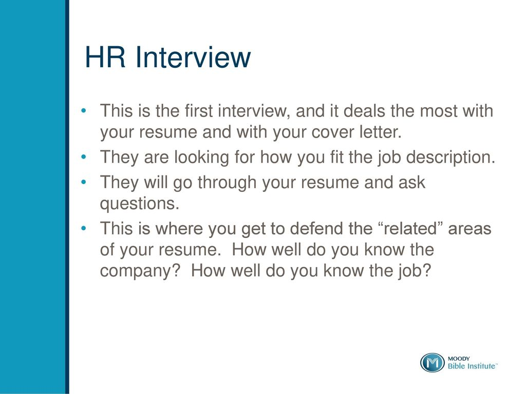 How to Interview Well. - ppt download