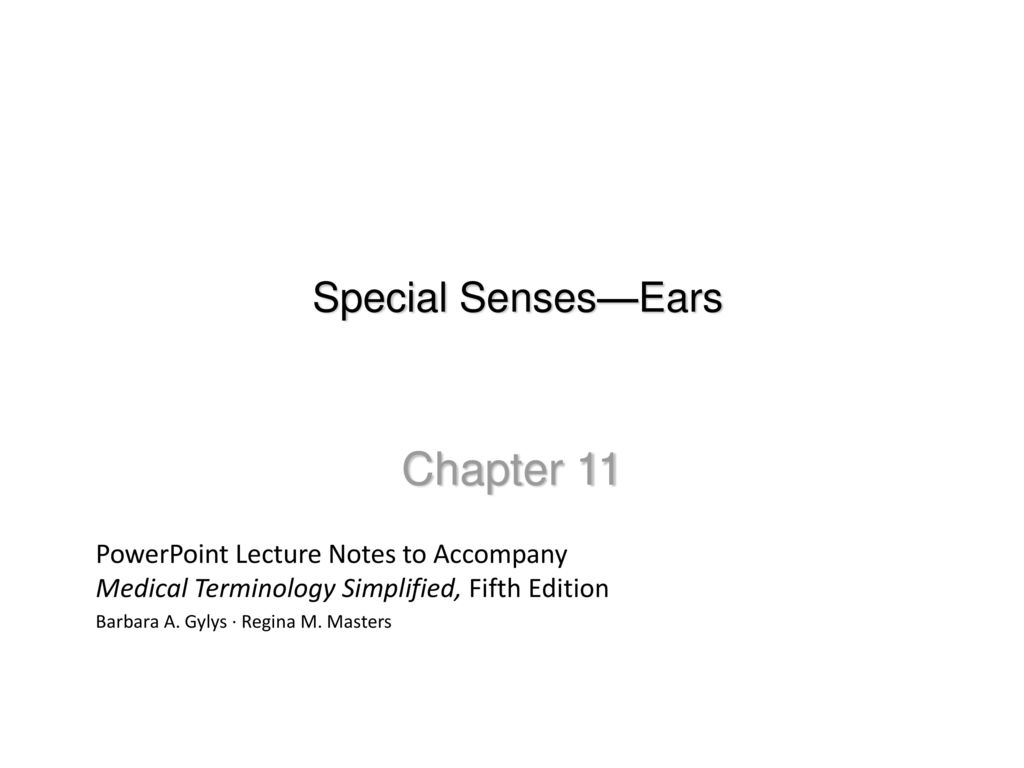 Contemporary Anatomy And Physiology Special Senses Powerpoint Sketch ...