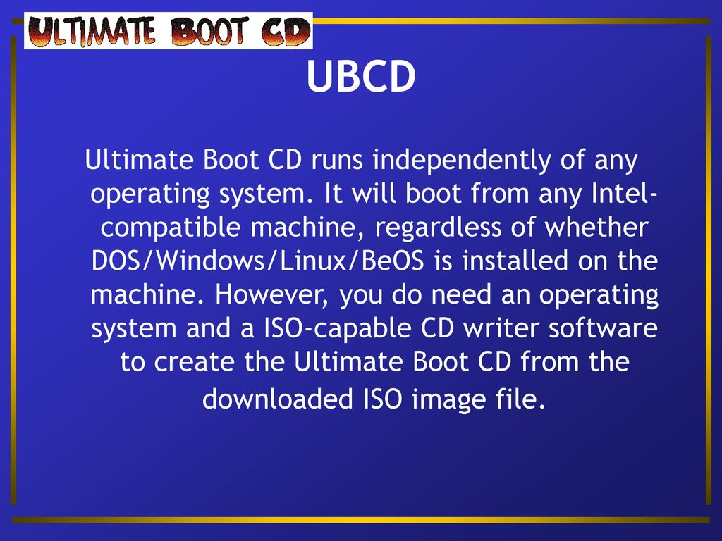 Customized USB Environments - ppt download