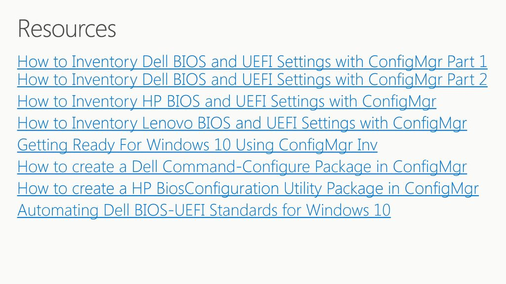 Prepare for Windows 10 and UEFI - ppt download