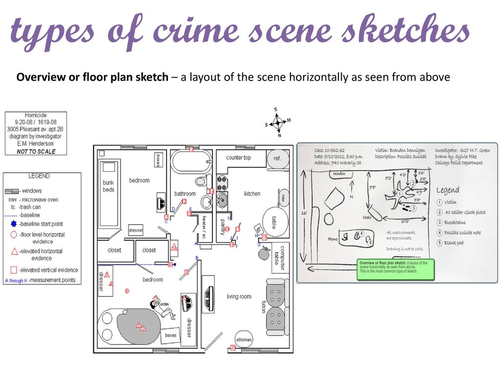 1 06 Crime Scene Sketch Goals For This Lesson Ppt Download