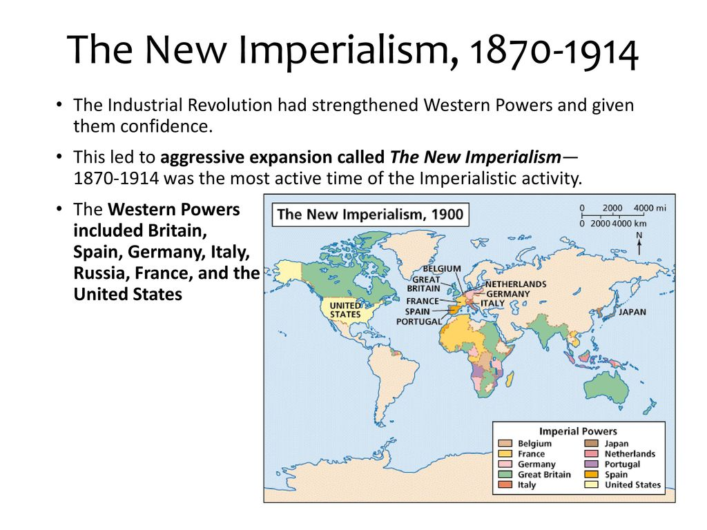 industrial revolution and new imperialism The industrial revolution started before napoleon but it didnt get info full swing after napoleon died and the congress of vienna created new united countries that were more industrial and imperialistic, for example, anerica started the majority of its manifest destiny (could be considered american imperialism) during or after napoleon, and.