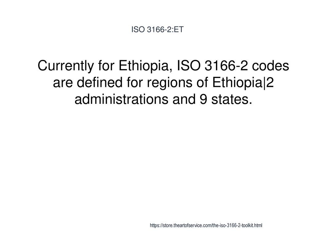 61 Iso Et Curly For Ethiopia Codes Are Defined Regions Of 2 Administrations And 9 States