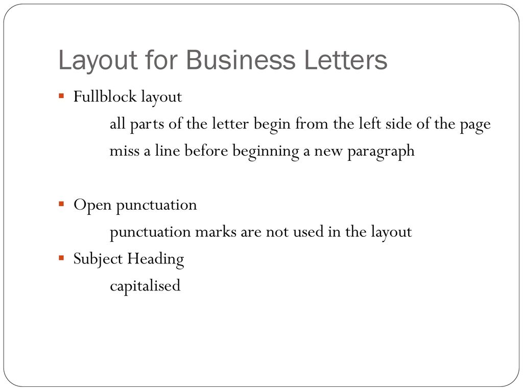 Purpose of letters make requests claims complaints appreciate ppt layout for business letters altavistaventures Choice Image