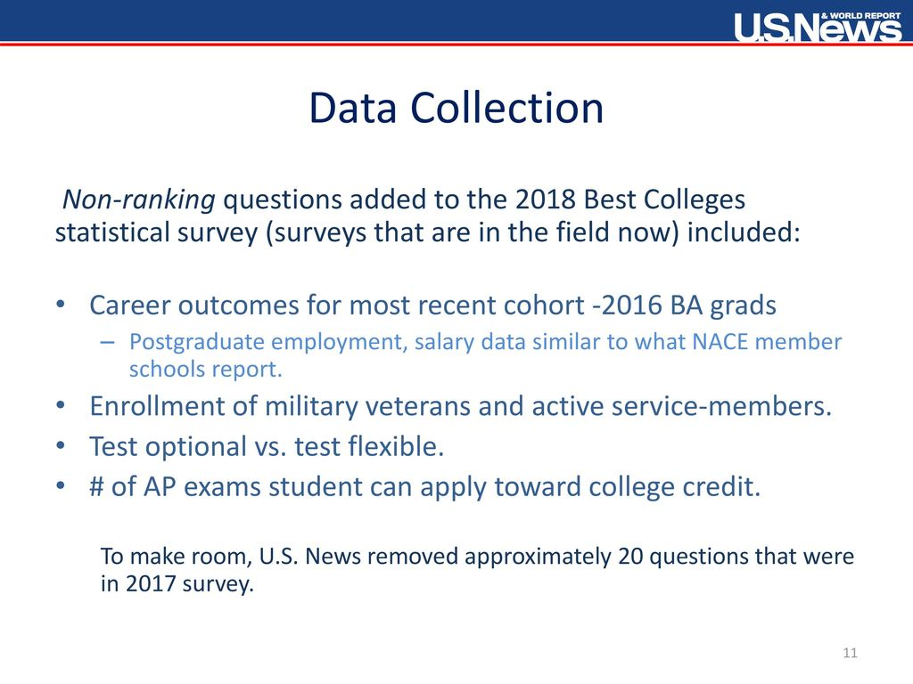 statistical survey topics for college students