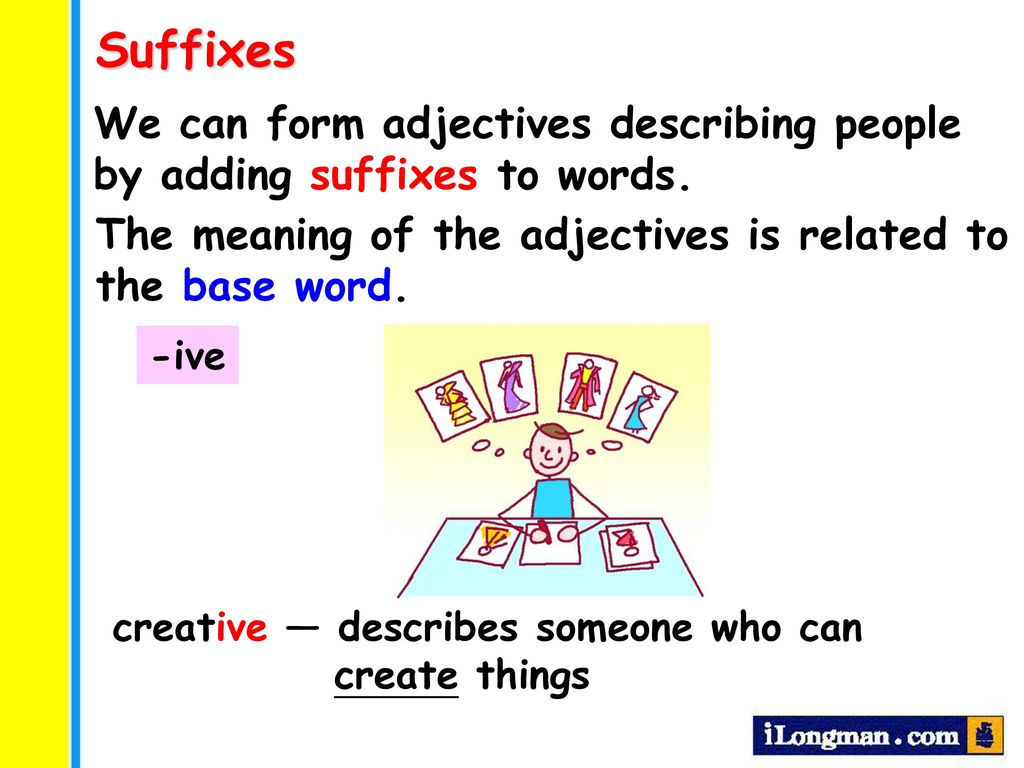 creative words to describe someone