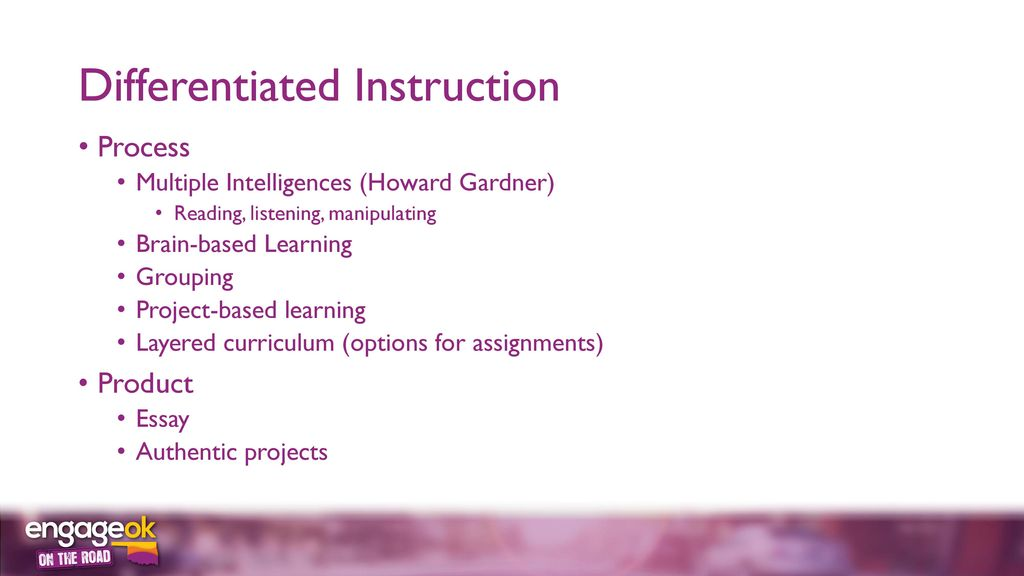 Differentiation With Gifted Students In Mind Ppt Download