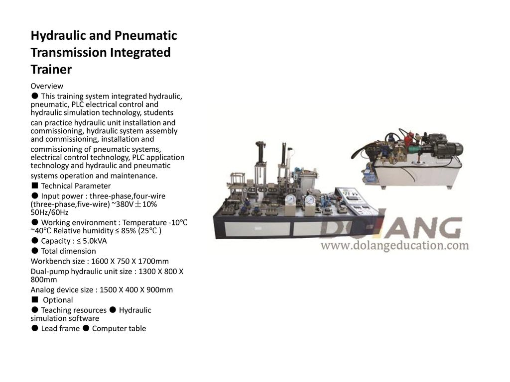 Hydraulic Trainer Ppt Download Motion Control System Design Content From Hydraulics Pneumatics And Pneumatic Transmission Integrated
