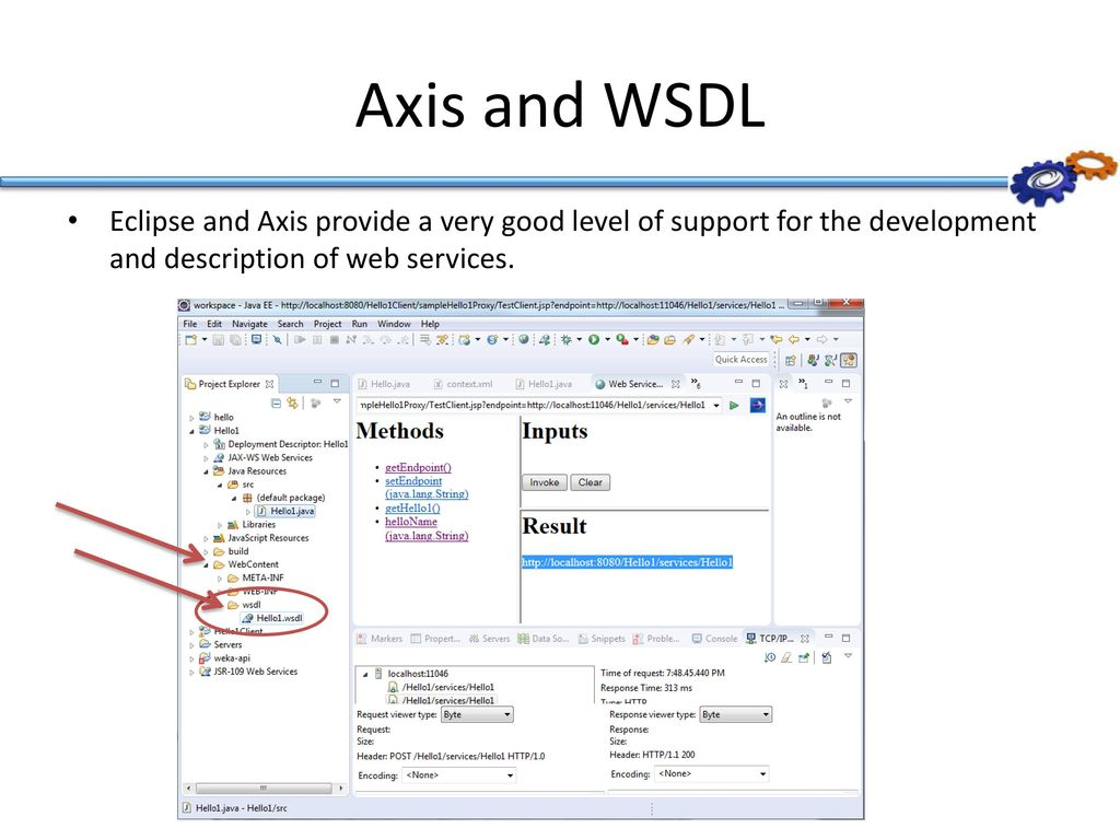 Labs: Create, deploy and test a simple web service - ppt