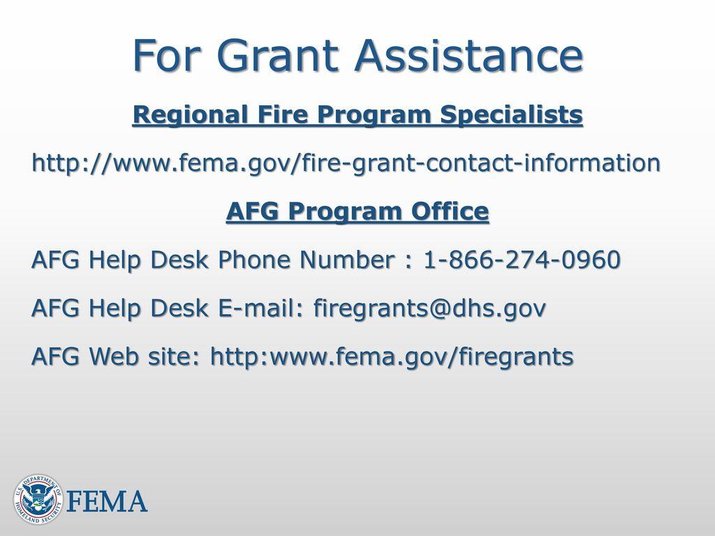 Assistance to Firefighters Grant Program AFG WORKSHOP June 23, ppt