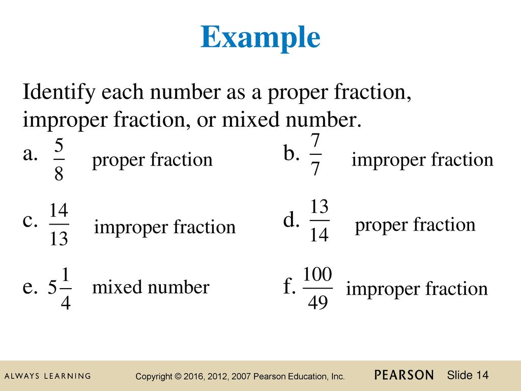 3 chapter chapter 2 fractions and mixed numbers. - ppt download
