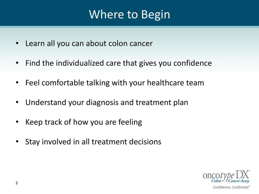 Making Treatment Decisions After a Colon Cancer Diagnosis Making Treatment Decisions After a Colon Cancer Diagnosis new photo