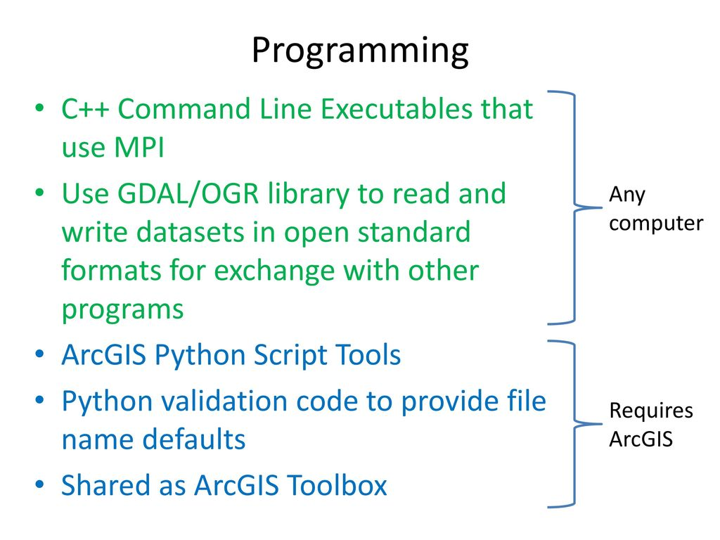 Extending ArcGIS using programming - ppt download