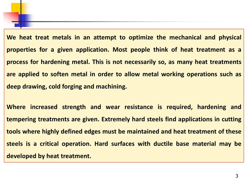 Mechanical treatment of metal: types and methods
