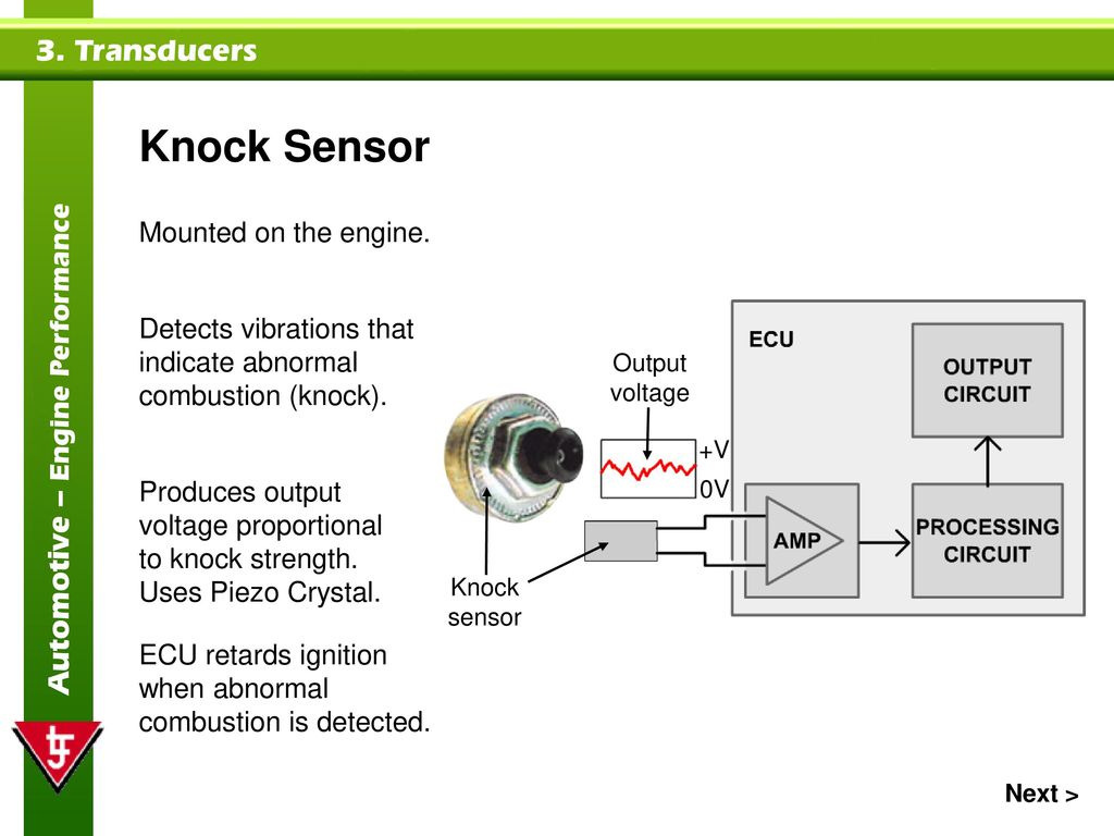 Transducers Topics Covered In This Presentation Ppt Download Knock Sensor Schematic 23