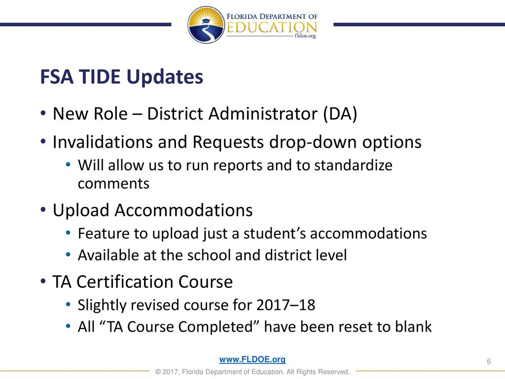K 12 Student Assessment Test Administration Updates Ppt Download