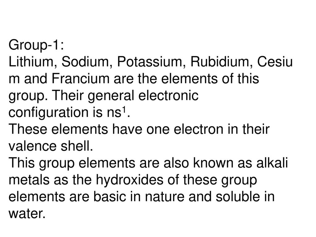 Image Result For Exceptional Electronic Configuration Of Elements