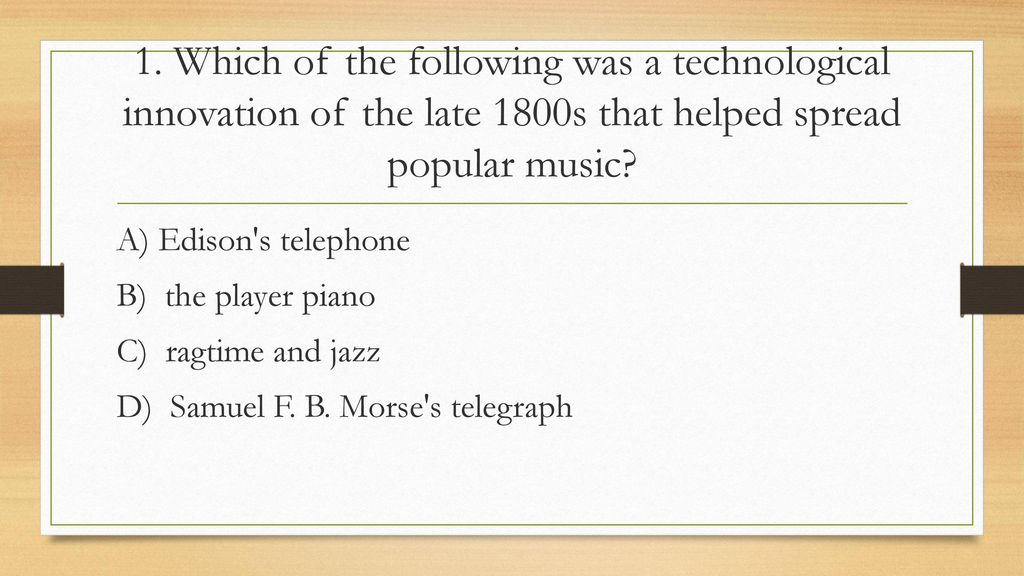 "Chapter 16 ""Life at the Turn of the Twentieth Century"" - ppt"